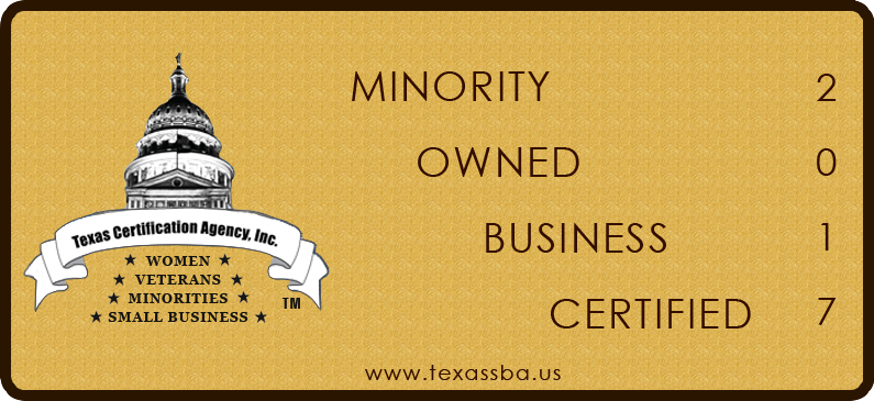 2017 Minority Owned Business Certified