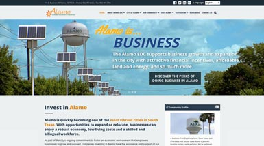 Alamo EDC | Website Design, Search Engine Optimization, Social Media, Content Management