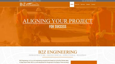 B2Z Engineering | Website Design