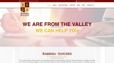 Barrera Sanchez | Website Design, Search Engine Optimization, Content Management