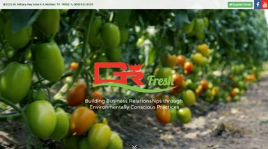 GR Fresh | Website Design