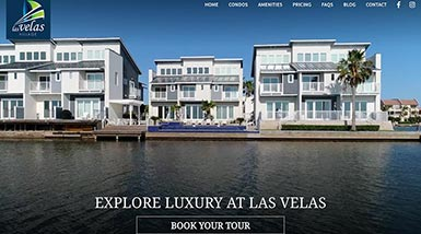 Las Velas Village | Website Design, Search Engine Optimization, Social Media Management, Content Management