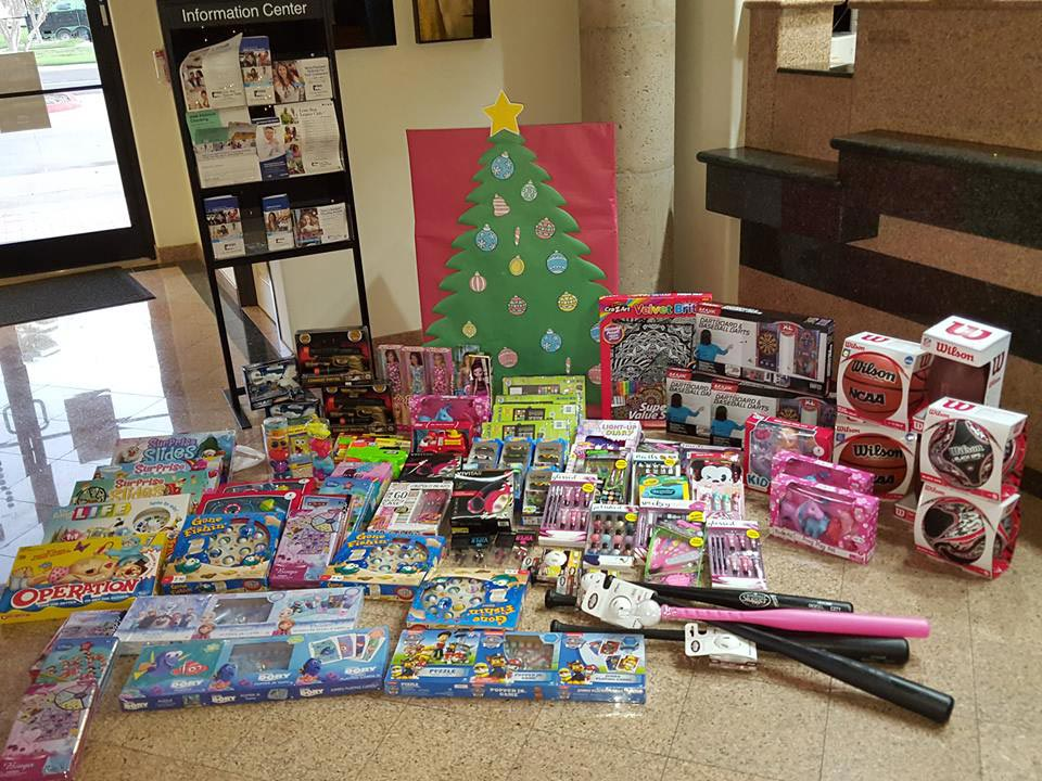 Lone Star National Bank Toy Drive